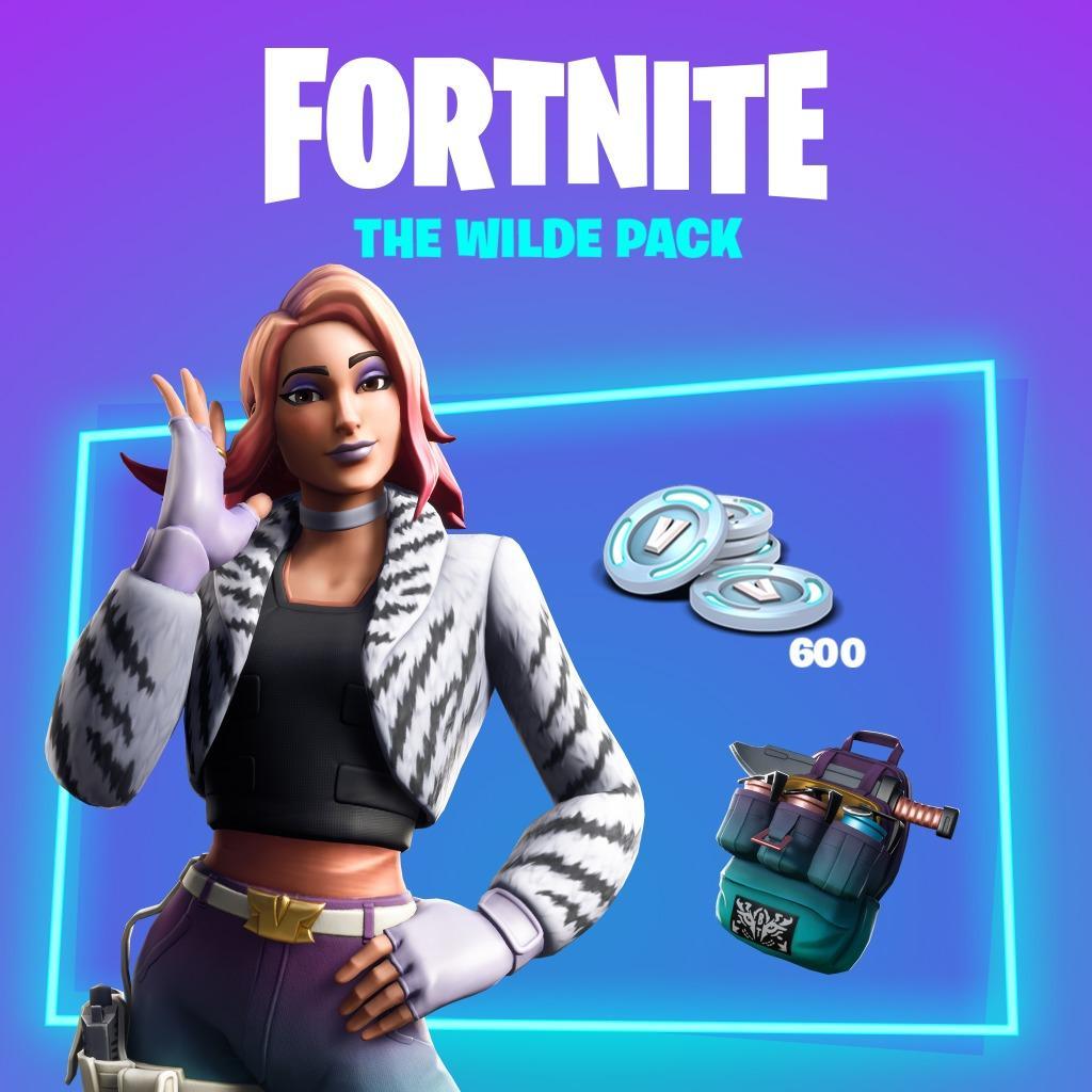 Fortnite The Wild Pack