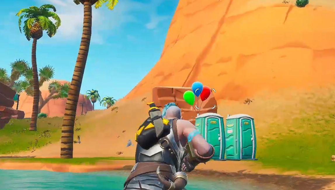 Fortnite 14 Days Of Summer Pop Party Balloon Decorations
