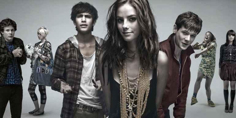 skins teen drama