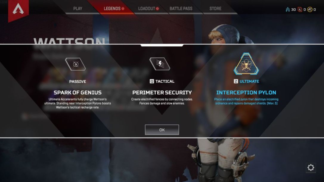 Apex Legends Wattson abilities