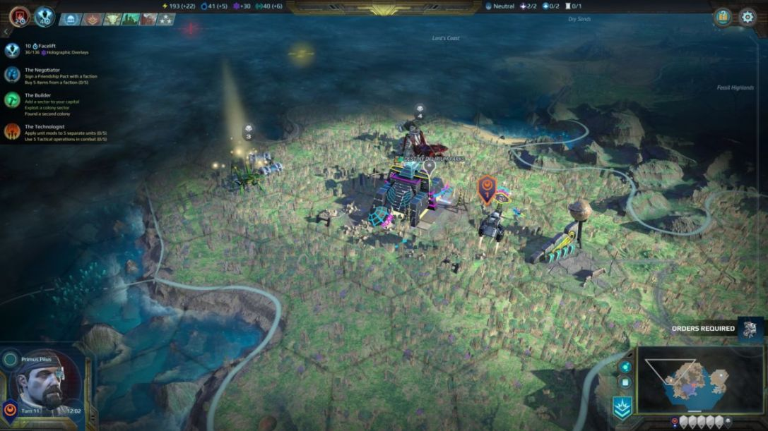 Age of Wonders Planetfall review 2