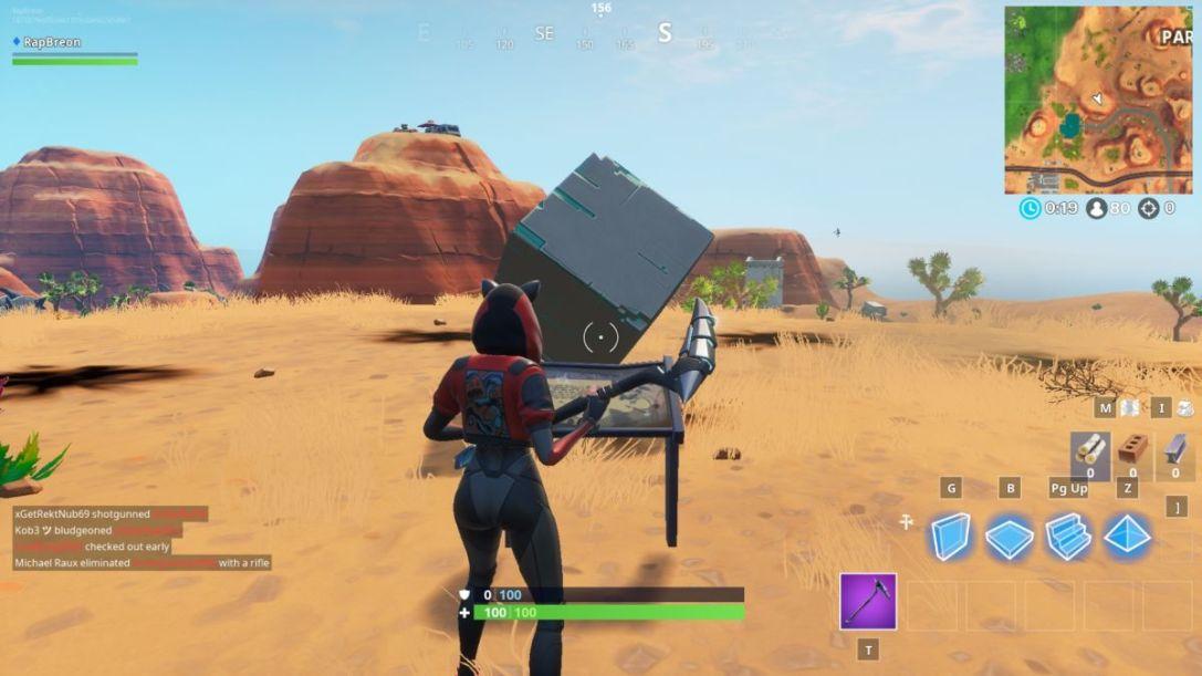 Cube Memorial desert location 1