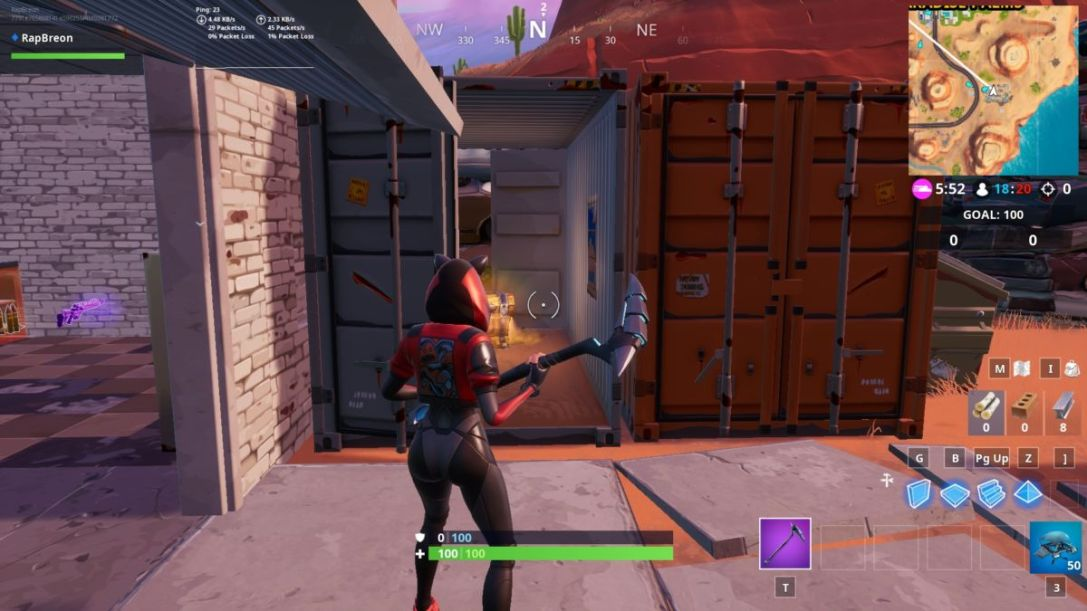 Fortnite Window Containers 2
