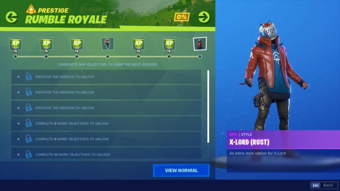 Fortnite Season X Missions: Prestige, Rewards & How They Work
