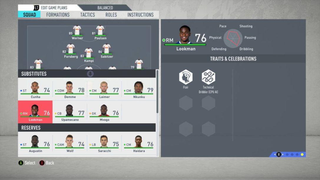 FIFA 20 Lookman