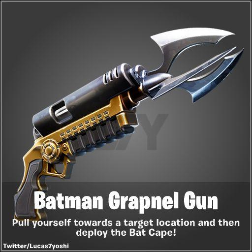Fortnite grapnel gun