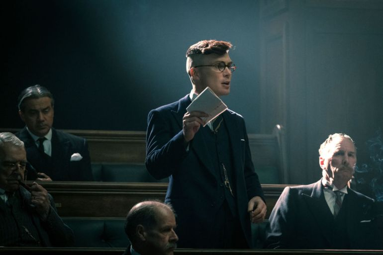 Peaky Blinders V - TX: n/a - Episode: Peaky Blinders V Ep 1 (No. 1) - Picture Shows: Tommy Shelby (Cillian Murphy) - (C) Caryn Mandabach Productions Ltd. 2019 - Photographer: Robert Viglasky black tuesday