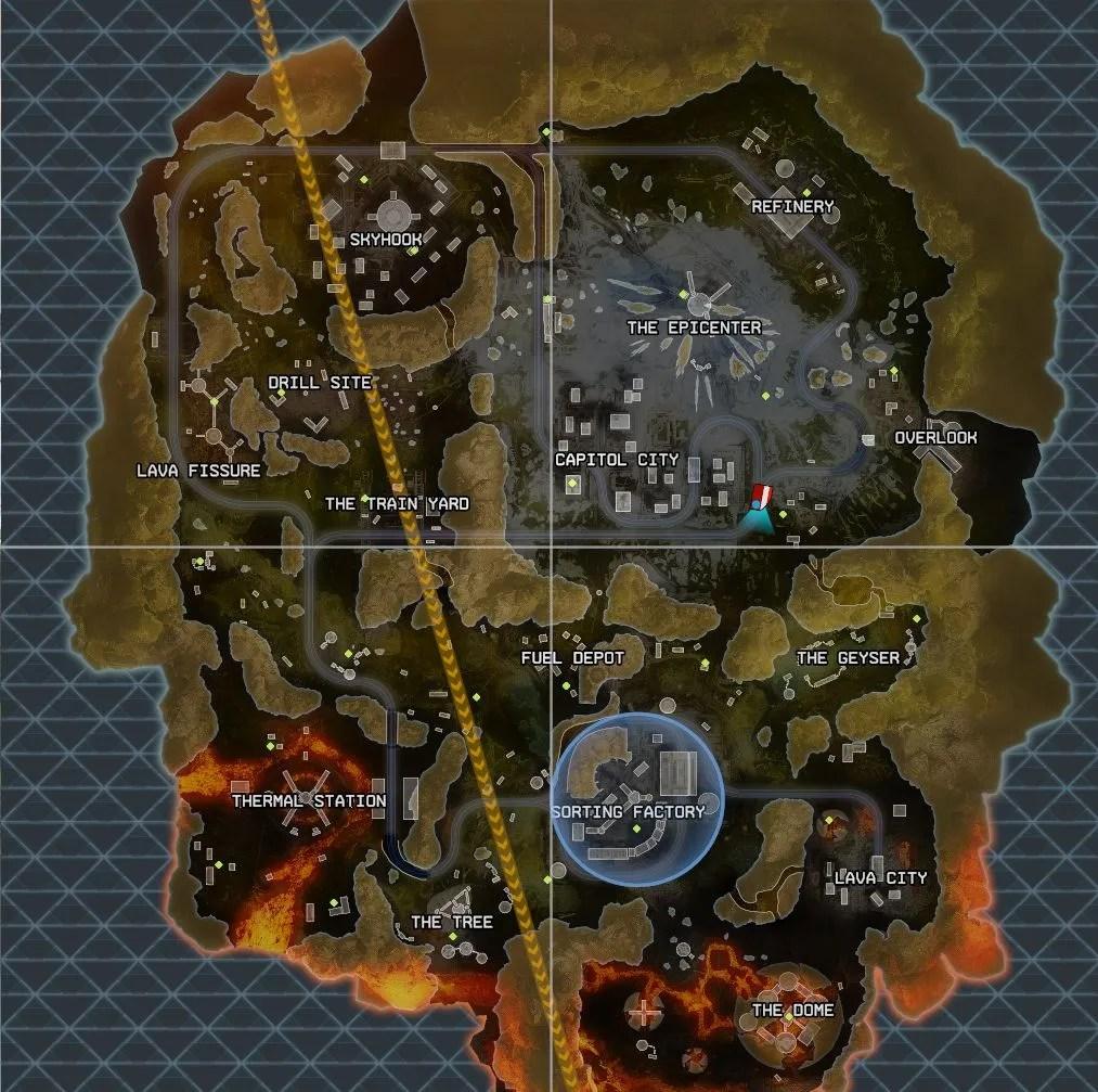 Apex Legends Season 3 map