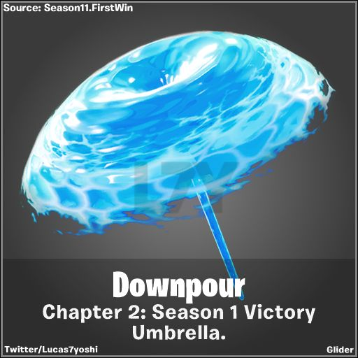 Fortnite 2 Chapter 1 Victory Umbrella Revealed Cultured
