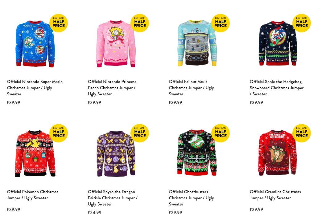 Geeky Christmas Jumpers#
