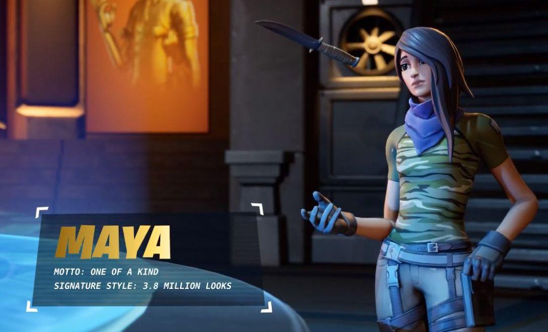 Fortnite Maya