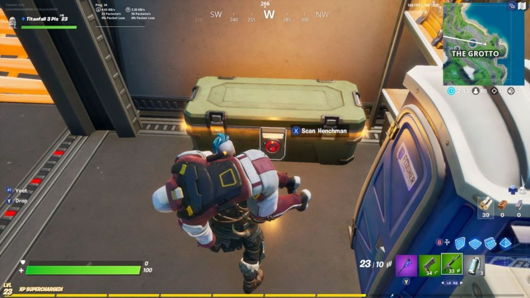 Fortnite: Open Chests Locked By An ID Scanner | Cultured ...