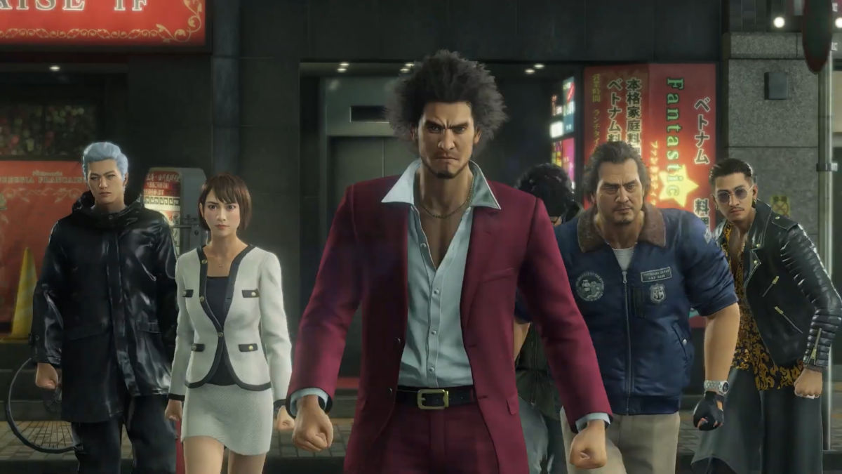 Yakuza Like A Dragon Confirmed For Ps5 With English Dub Pre