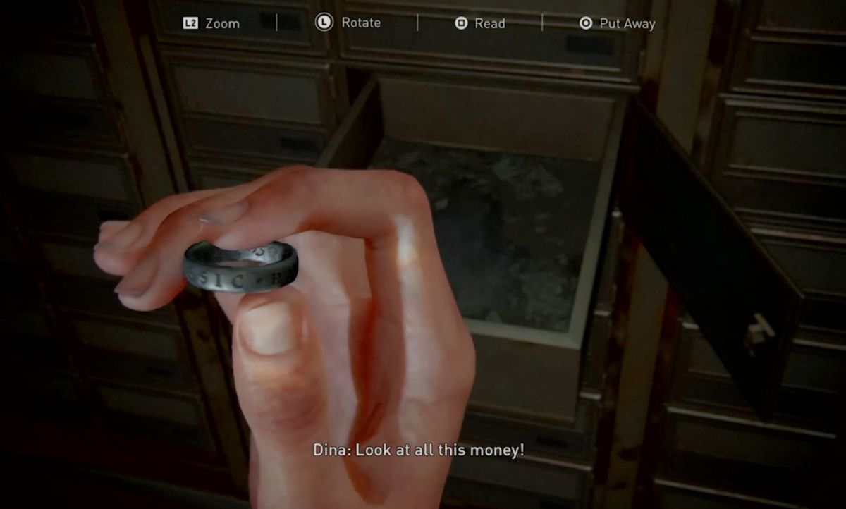 The Last Of Us Part 2 So Great And Small Trophy Guide Uncharted Ring