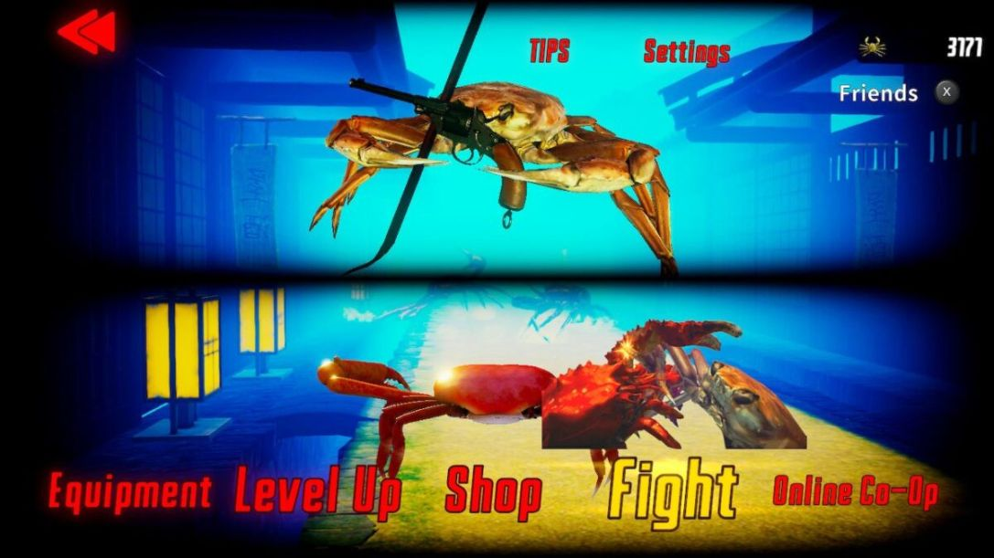 Fight Crab switch review