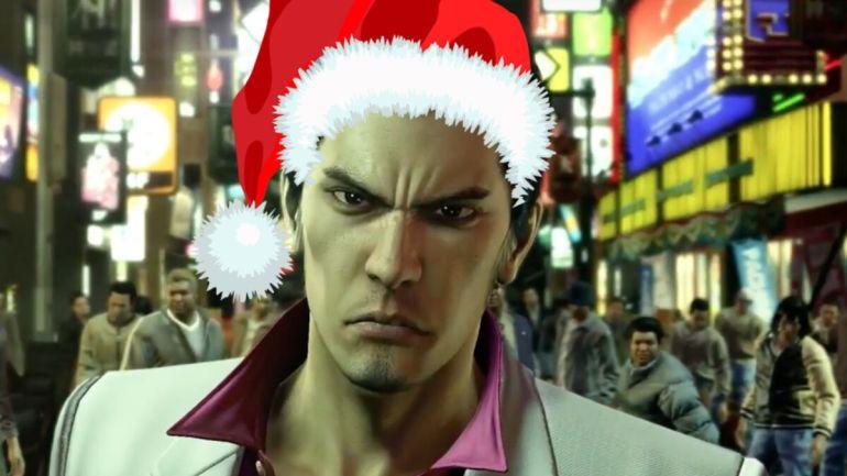 Yakuza Kiwami Christmas game