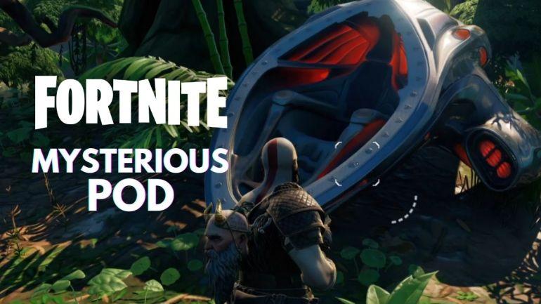 Fortnite Mysterious Pod