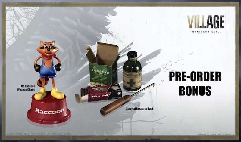 Preorder Bonus Resident Evil Village