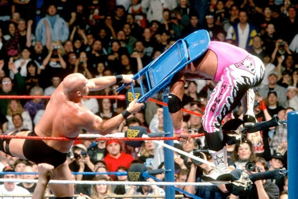 Bret Hart vs Steve Austin