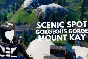 Visit Scenic Spot Gorgeous Gorge Mount Kay