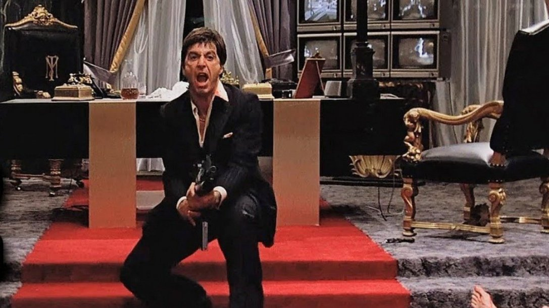 Say hello to my little friend from Scarface
