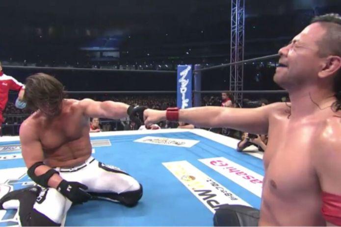 Shinsuke Nakamura (c) vs AJ Styles - Wrestle Kingdom 10 (Jan 4th, 2016)