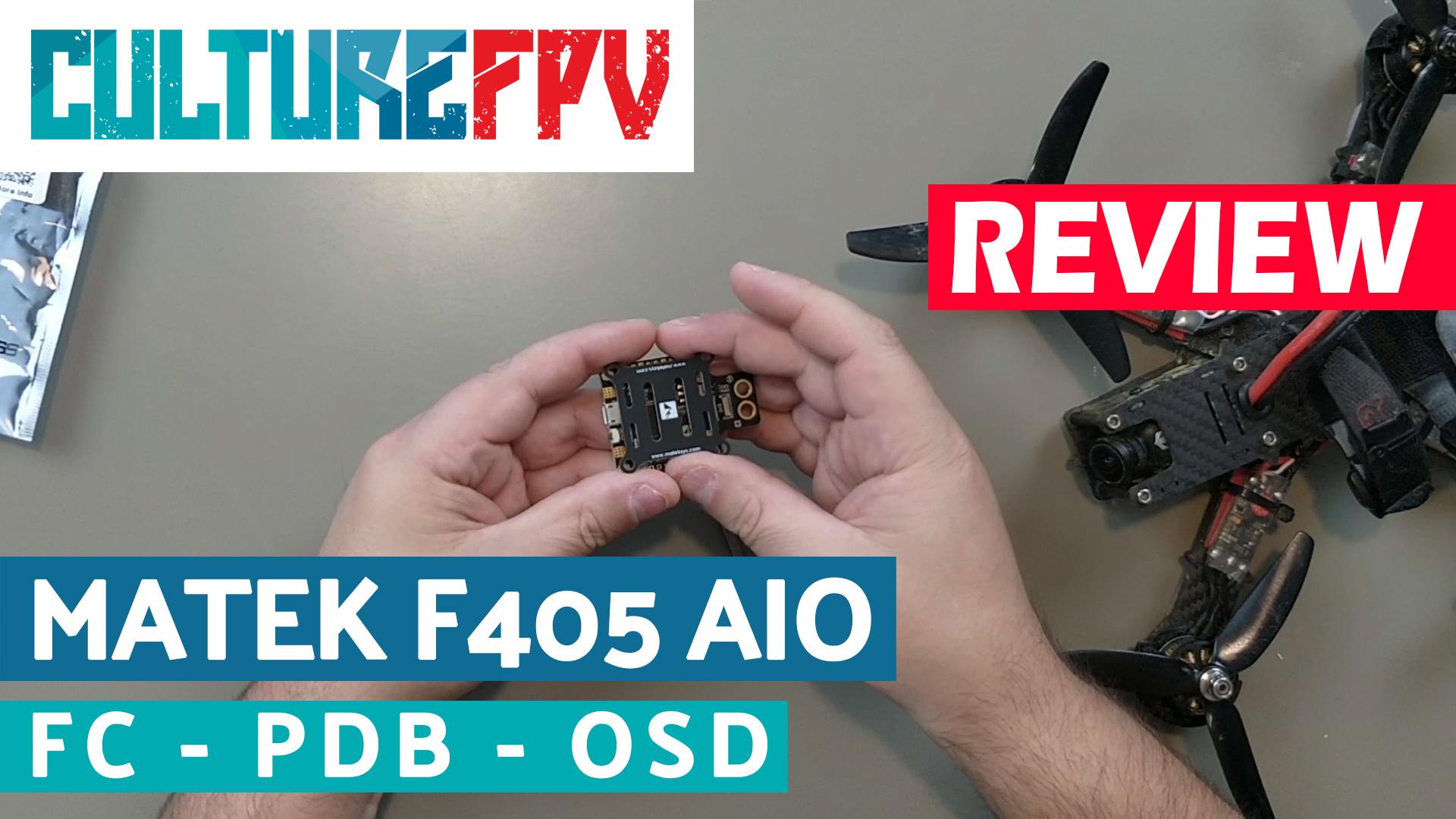 Matek F405 AIO