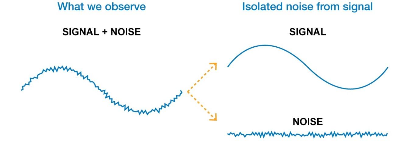 Signal versus bruit
