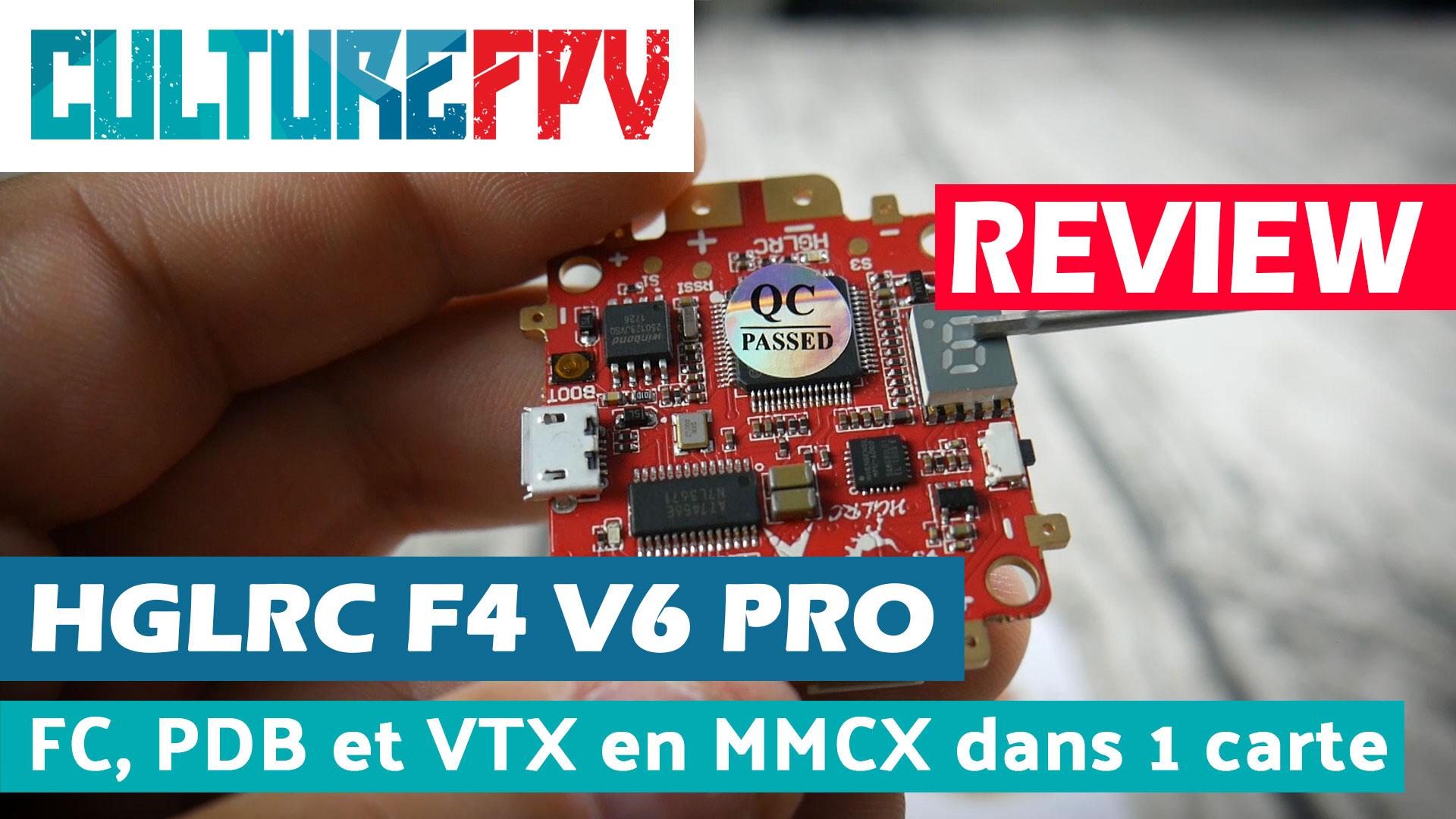 HGLRC F4 V6 pro