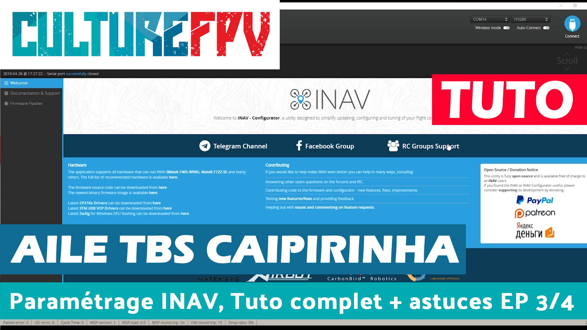 TBS Caipirinha ep 3 su 4 INAV