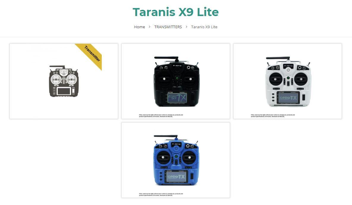 Taranis X9 Lite, la nouvel Taranis de chez FrSky