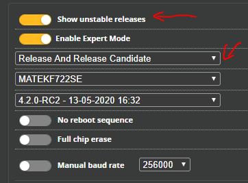 Betaflight 4.2 Update