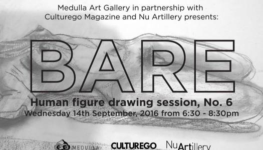 SEP. 14/ BARE: HUMAN FIGURE DRAWING SESSION, NO. 6