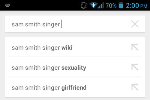 Sam Smith Sexuality