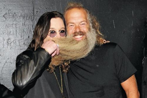 Ozzy Osbourne and Rick Rubin