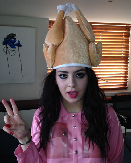 Charli XCX turkey