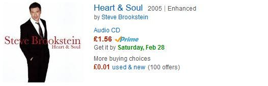 Steve Brookstein - Heart and Soul