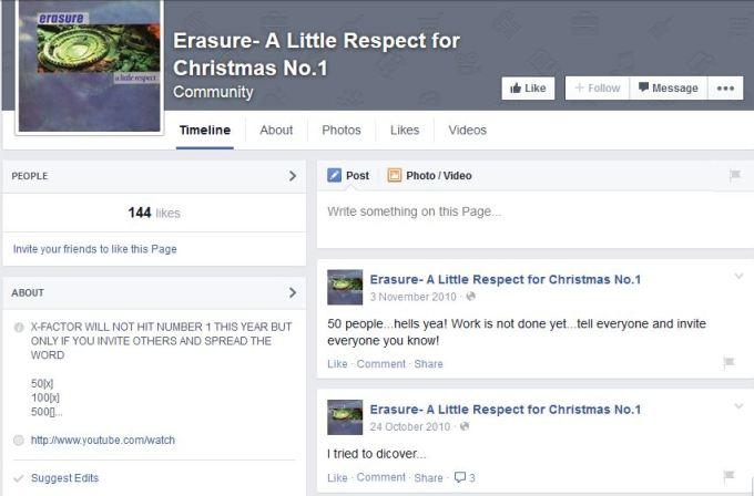 Erasure - Christmas Number One