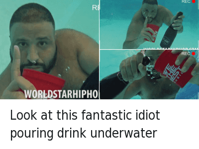 underwater dj khaled