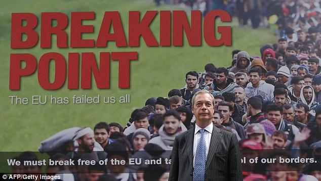 Nigel Farage Breaking Point Poster - Brexit