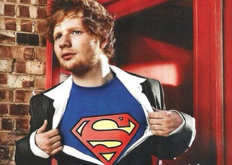 Ed Sheeran Superman