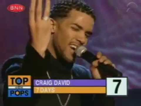 Craig David - 7 Days Top of the Pops