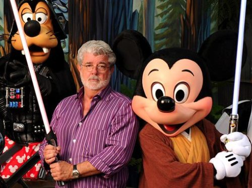 George Lucas and Disney
