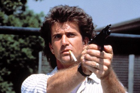 Martin riggs mel gibson - lethal weapon