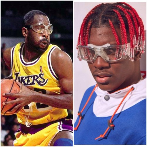 james worthy lil yachty goggles