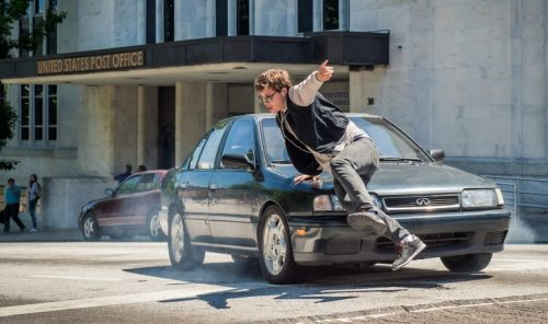 baby driver action sequence - ansel elgort