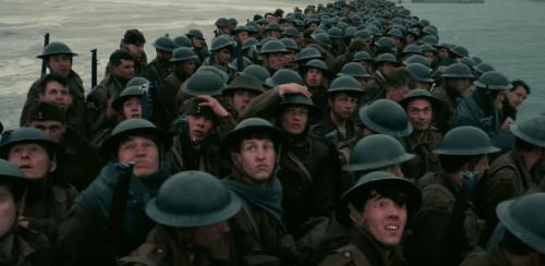 dunkirk film - allied soldiers