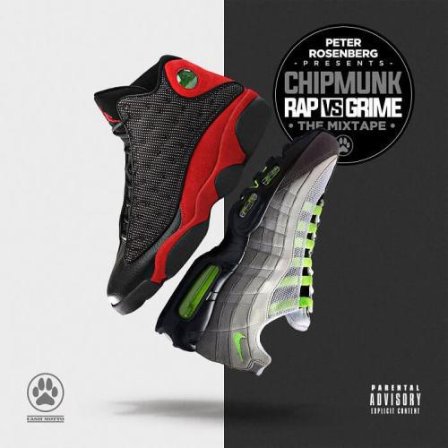 Chipmunk - Rap v Grime mixtape cover