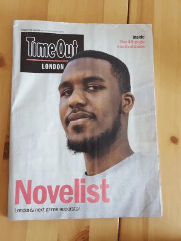 Novelist Timeout London Magazine