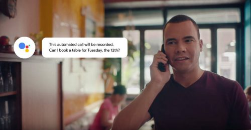 Google Duplex ad #3